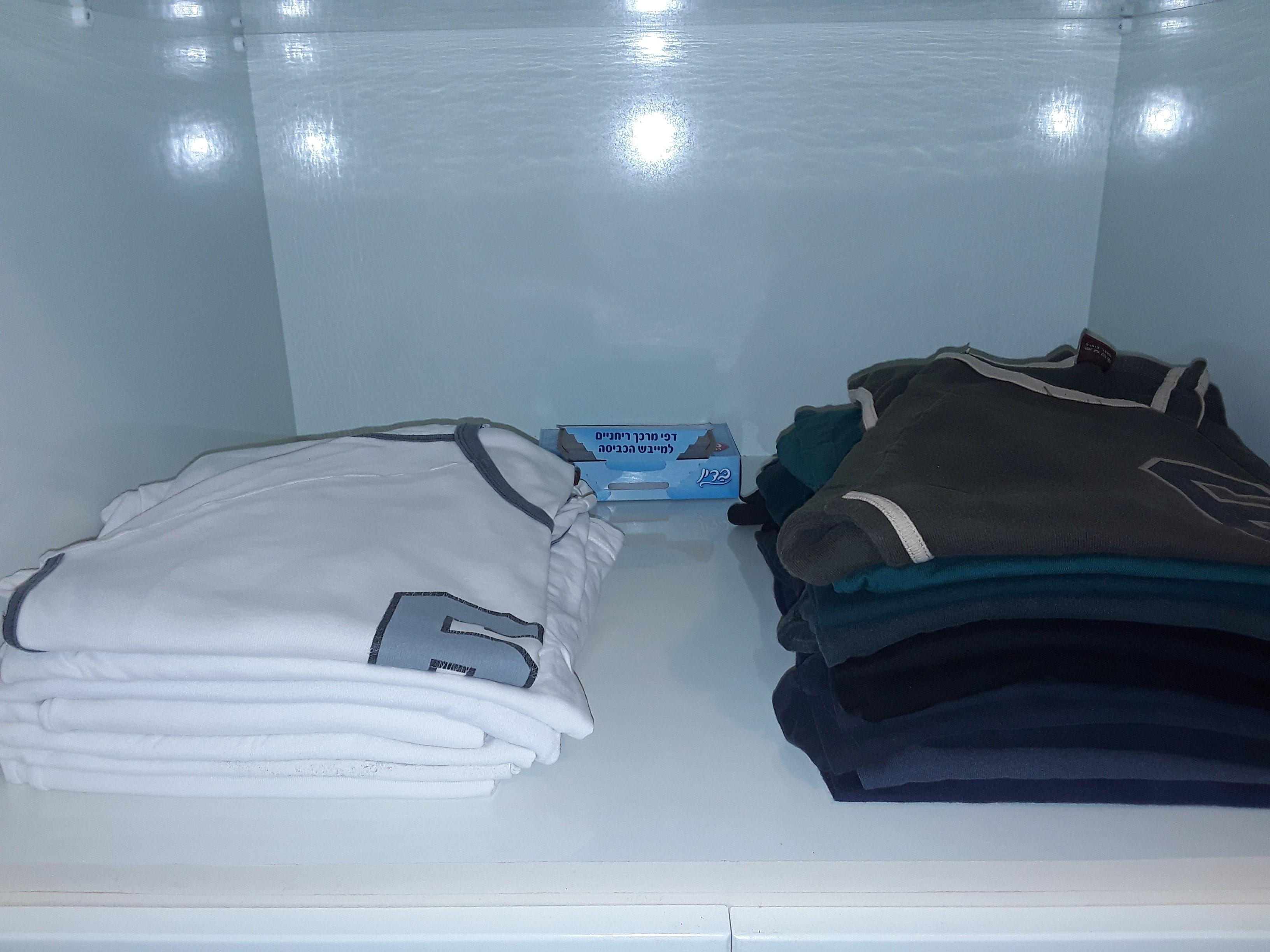 שיטות לסידור ארון הבגדים 'יהיה בסדר בצפון!'